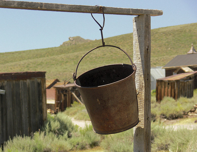 Bodie is full of scenes like this--frozen snapshots in time.