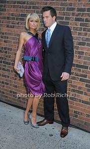 Paris Hilton,  Doug Reinhardt  photo by Rob Rich © 2009 robwayne1@aol.com 516-676-3939