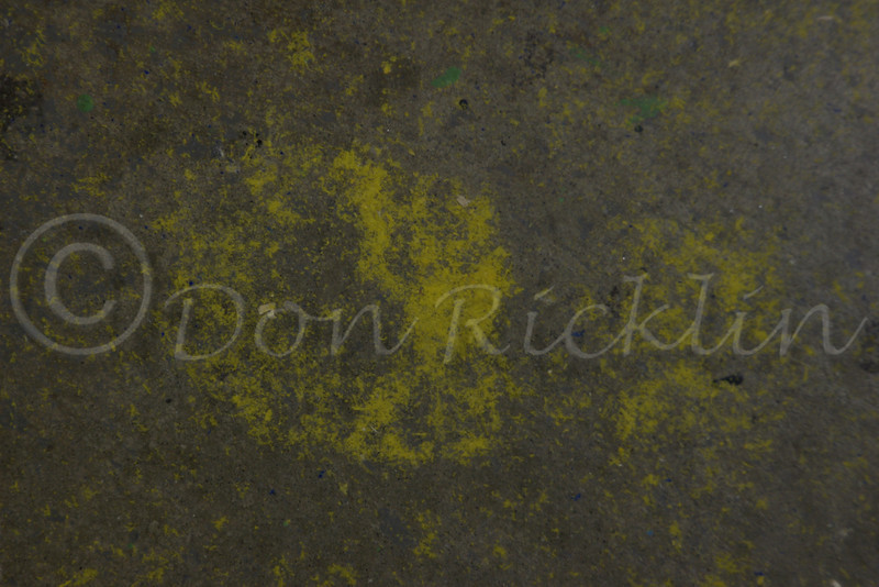 Yellow Sintra Sawdust track.