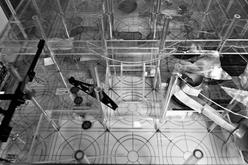 "EcoTarium Exhibit space Model.Scale is 3/8"" to 1' - 0"" plexi built by myself."
