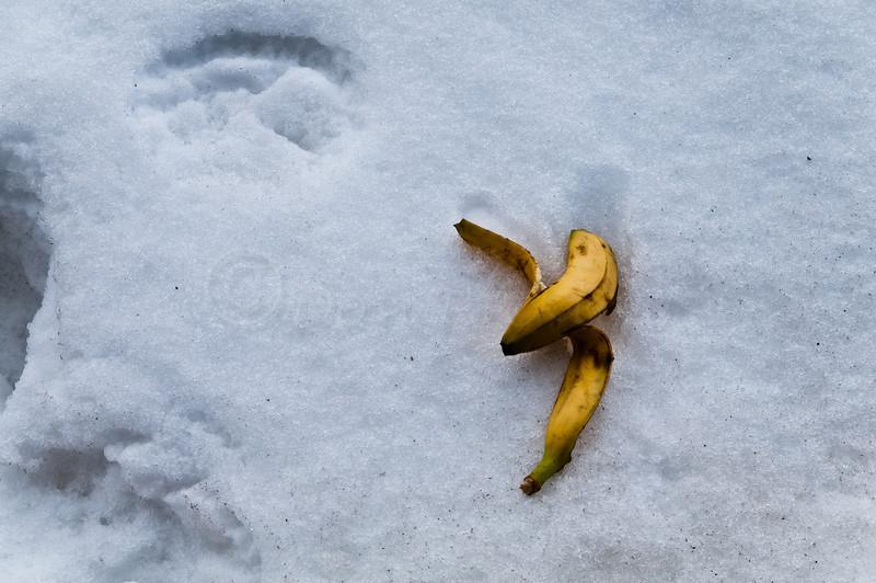 Don't slip in the snow!