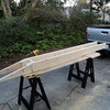 Building some extensions (wings) to widen the lift table in the lowered position -- makes loading a bike easier.