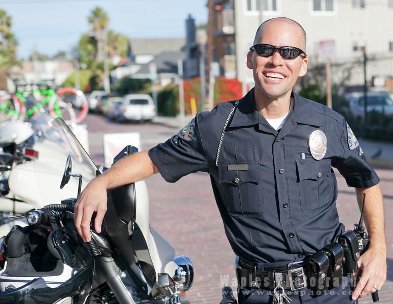 Officer Stewart on the Venice Beach Beat