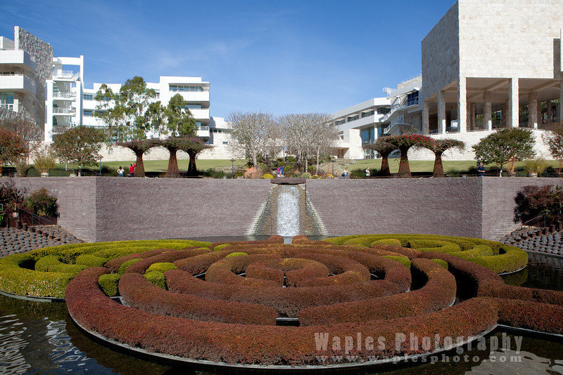 Water Feature & Maze