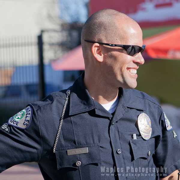 Los Angeles Police Officer 14697