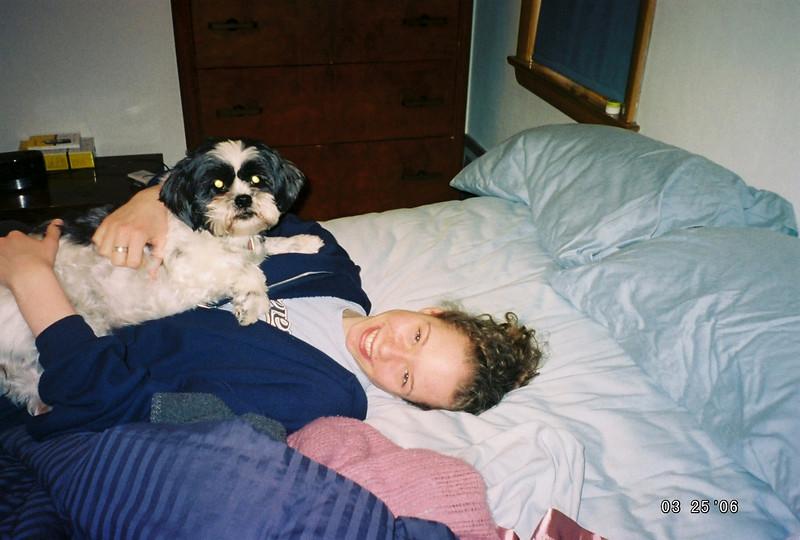 Make the bed?  Laaalaala, we're busy.