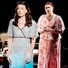 "Mark Maynard | for The Herald Bulletin<br /> Laura Wingfield (Alaina Porch) is upset by her mother Amanda's (Angela Gick) criticism in ""The Glass Menagerie"" presented by The Alley Theatre.<br /> For a gallery of photos to view or purchase, visit<br /> photos.heraldbulletin.com."