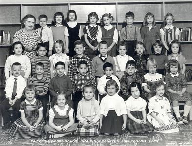 Wheaton Woods Kindergarden 1959