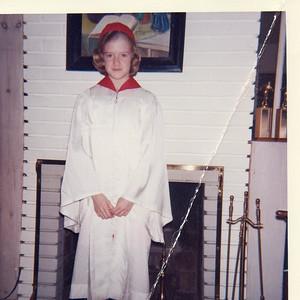 Peg England confirmation 5th grade (1964)