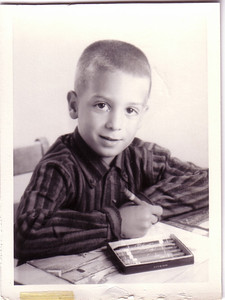 Joe Seamone  1958 Rockinghorse Road Kindergarden (anyone have the class photo?)