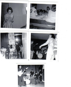 """2nd   All at Patty Collin's sleep over:         -Uh oh, Terri Sanchez don't hate me         -Maria Williams, me, Anne Bowen, Cindy Stifter, Kathy Wilcox         -Jim Coyle, Phil Ganey, Judy Stack (what's with the hair Judy?), guy in band (name?), and Bonnie Barry         -Marsha Hasson watching Bonnie Barry show she's got the moves!         -""""The Silver Lining"""" with Phil Ganey, Kevin beat those skins Sheridan, Danny Downs and two other guys (names?)"""