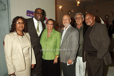 Joanne Barron, Clayton Evans, Lousie Baskerville, Leryo Baskerville, Maurice Babb photo by Rob Rich © 2008 robwayne1@aol.com 516-676-3939
