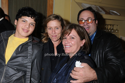 son, Frances McDormand, guest, Ed Kleefield