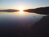 Sunrise on Maharlu Lake.