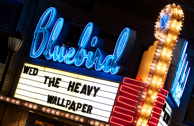 British rock/blues/funk band the Heavy brought their eclectic mix to the Bluebird Theater on Wednesday. Photos by Shawn Parker, heyreverb.com.