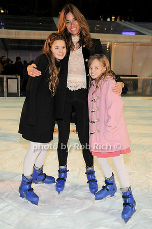 Kelly Bensimon, daughters<br /> photo by Rob Rich © 2009 robwayne1@aol.com 516-676-3939