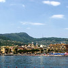Pano of Santa Margherita from the Metropole Hotel