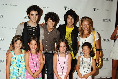 Kevin Jonas, Nick Jonas, Joe Jonas, Kelly  Ripa, kids