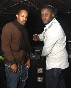Curtis Givens (L) CGI Ent. & DJ Houston (R)