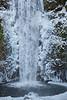 Multnomah Falls on Ice