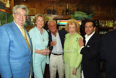 Ambassador Del Rosario, Elizabeth Spethmann, Howard Marton, Audrey  Del Rosario, Christoper Obetz photo by Rob Rich © 2008 516-676-3939 robwayne1@aol.com