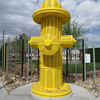 The corner of the dog park on Fremont.  It's called the Hydrant Club.