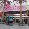 The side entrance to the Flamingo.  This was where people used to come out for the bus charters.