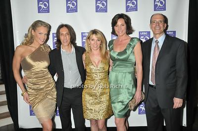Heidi Albertsen, Warren Tricomi, Countess Luann de Lesseps, Ramona Singer, Peter Santoro photo by Rob Rich © 2009 robwayne1@aol.com 516-676-3939