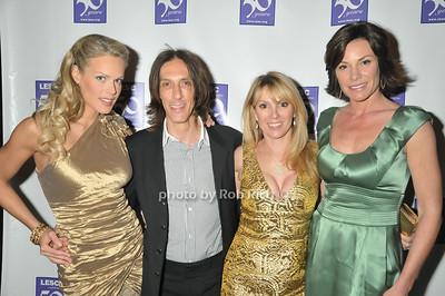 Heidi Albertsen, Warren Tricomi, Countess Luann de Lesseps, Ramona Singer photo by Rob Rich © 2009 robwayne1@aol.com 516-676-3939