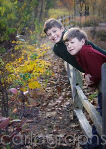 boys on the fence-