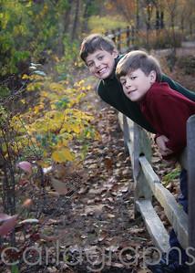 boys on the fence (quincy's idea)-
