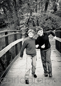 boys on the bridge bw-5569