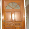 Uncle Jim re-did our door - he is truly a Miracle Worker...Thanks Uncle Jim
