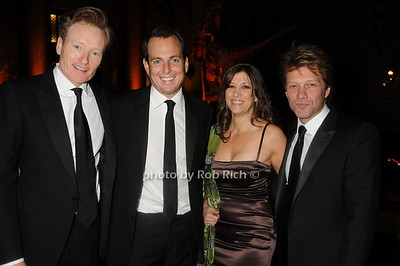 Conan Obrien, Will Arnett,Dorothea Hurley, Jon Bon Jovi photo  by Rob Rich © 2008 robwayne1@aol.com 516-676-3939