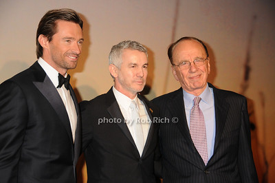Jugh Jackman, Baz Luhrmann,Rupert Murdoch photo by Rob Rich © 2008 robwayne1@aol.com 516-676-3939