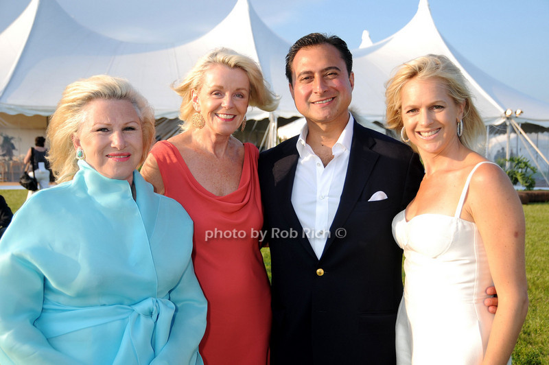 Elizabeth Robertson, Maryann Kiincaid, Alex Navab, Leslie Brille<br /> photo by Rob Rich © 2009 robwayne1@aol.com 516-676-3939