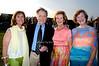Karen Hughes, Dick Cavett, Phyllis Toohey, Virginia Schwerin<br /> photo by Rob Rich © 2009 robwayne1@aol.com 516-676-3939