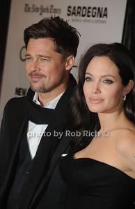 Brad Pitt, Angelina Jolie - photo by Rob Rich © 2008 516-676-3939 robwayne1@aol.com
