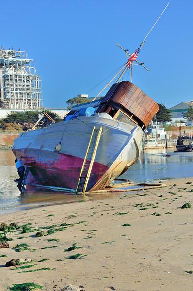 Moss Landing - Low Tide Repairs