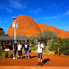 The start of our walk into The Olgas Gorge