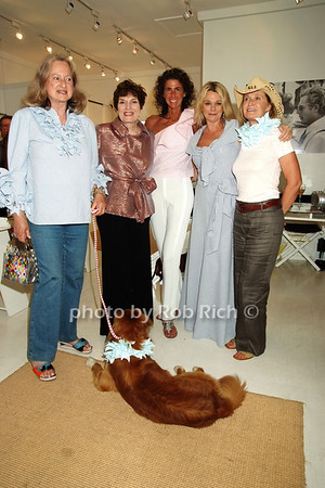 Countess Wiltraud Salm, Jackie Rogers, Somers Farkas, Debbie Bancroft, Lis Waterman photo by Rob Rich © 2008 516-676-3939 robwayne1@aol.com