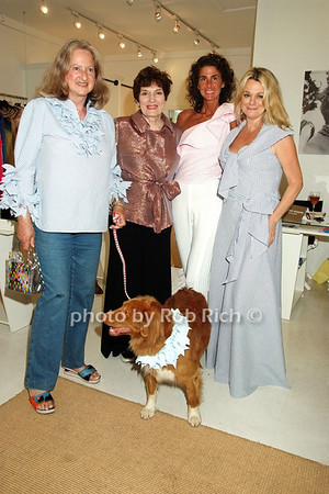 Countess Wiltraud Salm, Jackie Rogers, Somers Farkas, Debbie Bancroft photo by Rob Rich © 2008 516-676-3939 robwayne1@aol.com