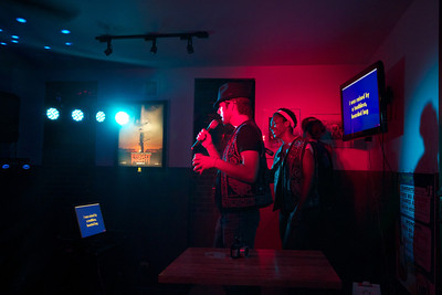 The People's Stage Karaoke at Martin's Corner