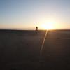 Petra and setting sun