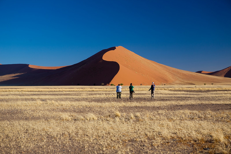 Fantastic Red Sand Dunes of Sossusvlei