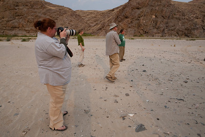 The Photographers in Namibia, Sept. 2009