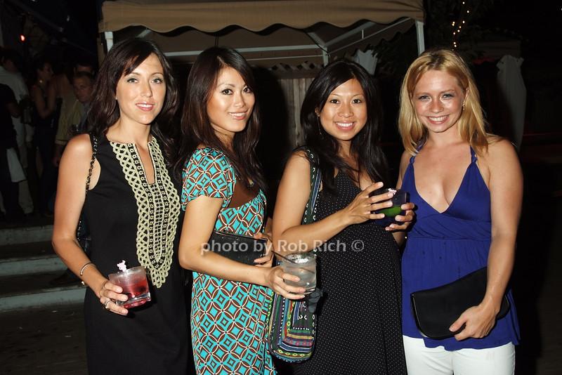 Jeanine, Pui Kay, Meelee Pi, Antoinette Ligas<br /> photo by Rob Rich © 2008 516-676-3939 robwayne1@aol.com