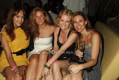Cida Mota, Tammie Fee, Nancy Marcus, Eloa Farias photo by Rob Rich © 2008 516-676-3939 robwayne1@aol.com