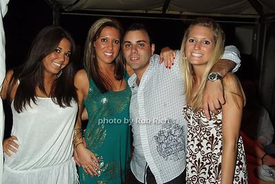 Melissa Calandra, Jen Hoehn, Frank Spadaro, Danielle Hoehn photo by Rob Rich © 2008 516-676-3939 robwayne1@aol.com