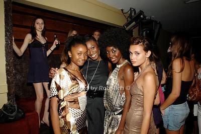 Ofatou, Irya, Marima and Kristina